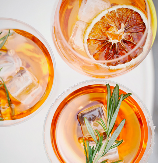 theSKIN Cocktails That Won't Leave You Totally Depressed