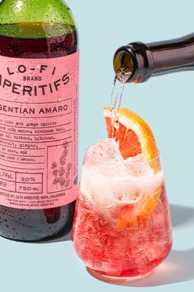 lo-fi aperitifs drink garnish