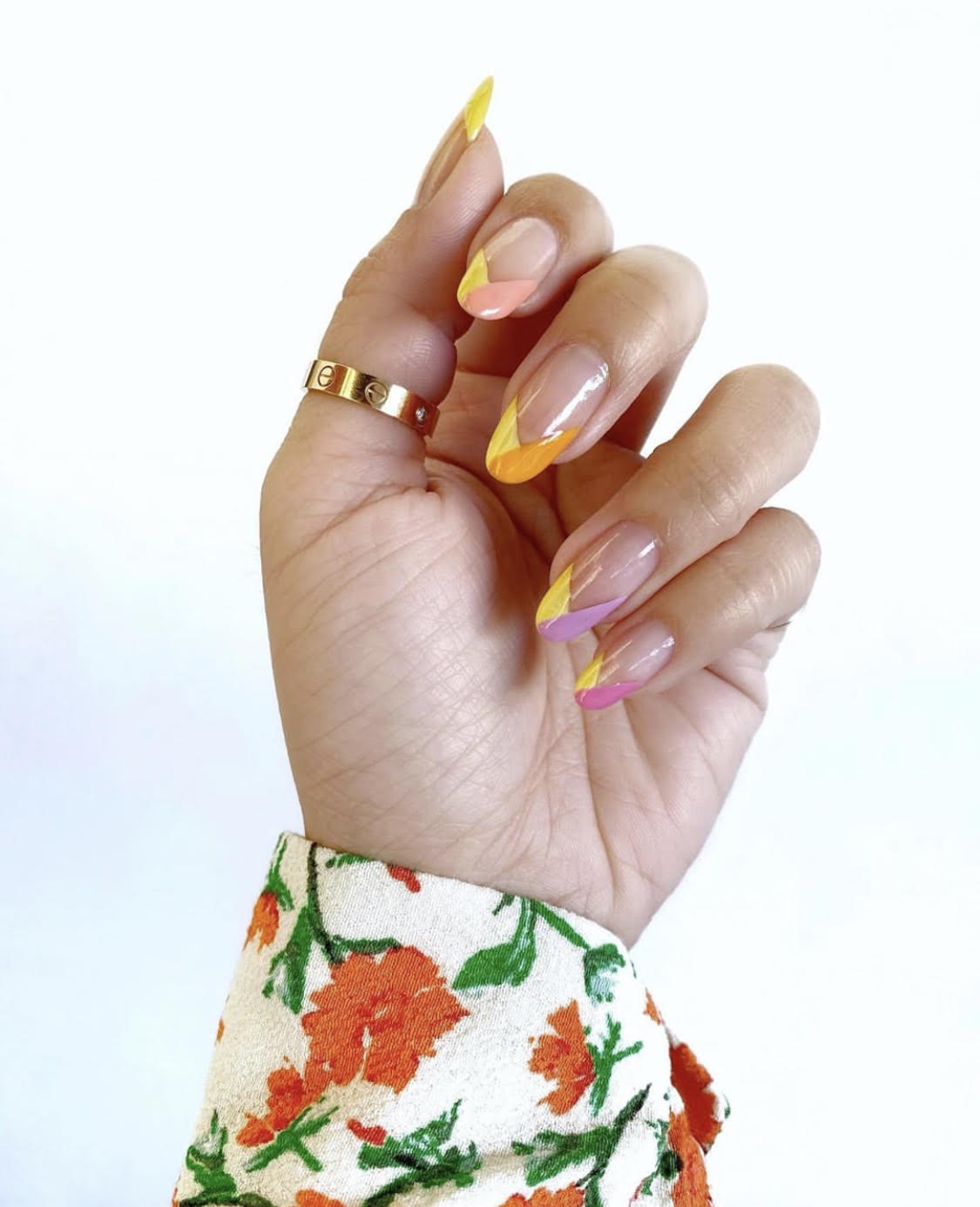 best colorful manicures