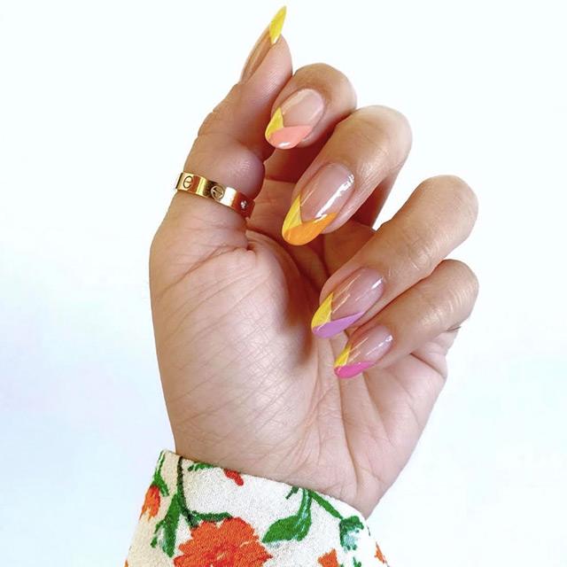 best colorful manicure